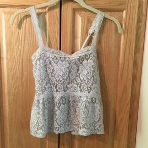Abercrombie & Fitch Tops - Abercrombie lace top